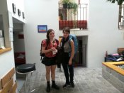 Hostel Taurus:Claudia and Madine